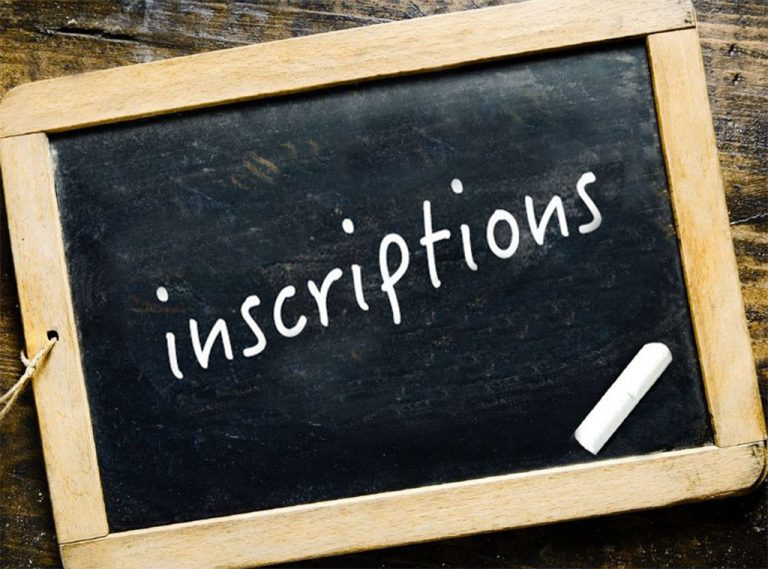 Read more about the article Inscriptions section sportive