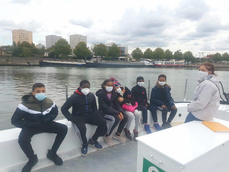 Read more about the article «Les Caprices de la Seine», une sortie avec les 5e Flaubert