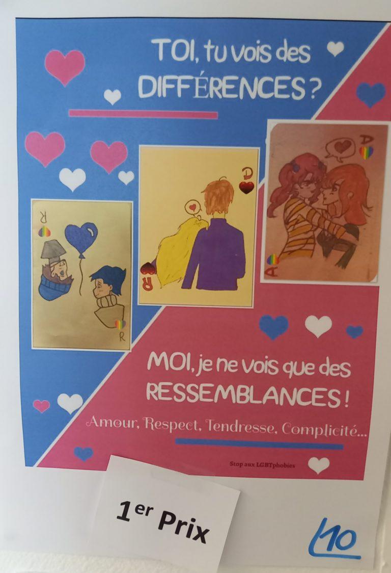 Read more about the article 1er prix au Concours académique