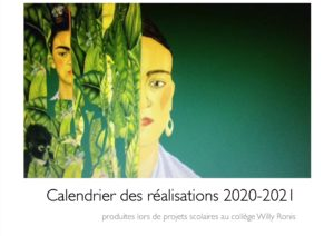 Read more about the article Calendrier du collège Willy Ronis
